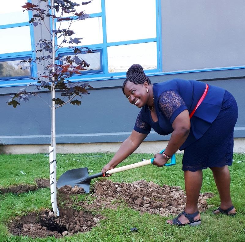Tree planting ceremony