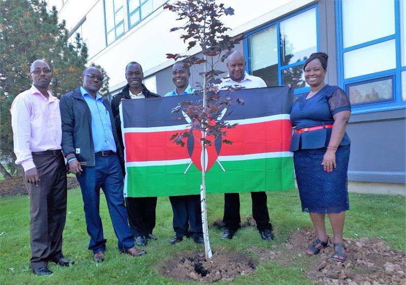 Kenyan Delegation